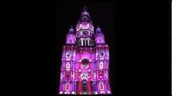 Tour en Folie 2012 ! Mapping Tour Abbatiale de Saint Amand les Eaux