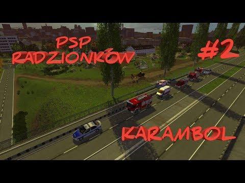 PSP Radzionków #2 Karambol Na Autostradzie! (OPIS)