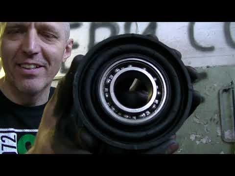 Renault Duster, как заменить подвесной подшипник на кардане?
