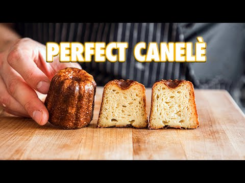 How To Make The Perfect French Pastry At Home: The Canelè