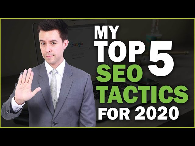 Top 5 SEO Tips for 2020 (Essential Strategies)