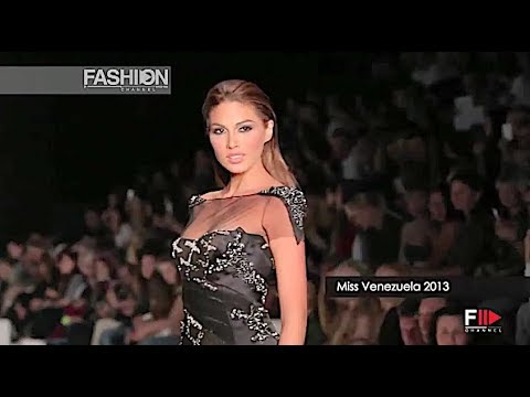 TONY WARD COUTURE backstage MISS UNIVERSE 2013 Moscow - Fashion Channel