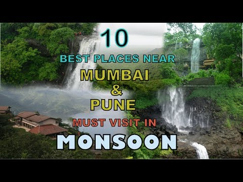 10 BEST PLACES TO VISIT IN MONSOON (Mumbai & Pune)