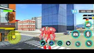 Tank Robot Games 2020 - Police Eagle Robot Car Game - Android Gameplay Part 2 screenshot 5