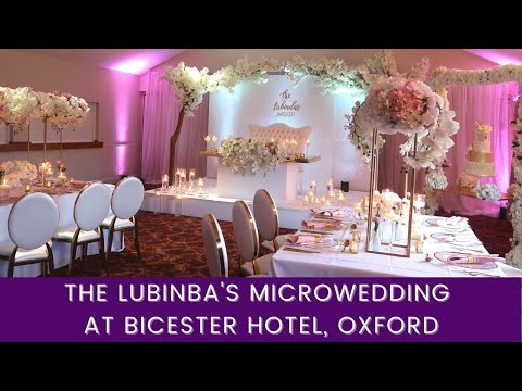 EDH Does The Lubinda's Microwedding at Bicester Hotel & Spa