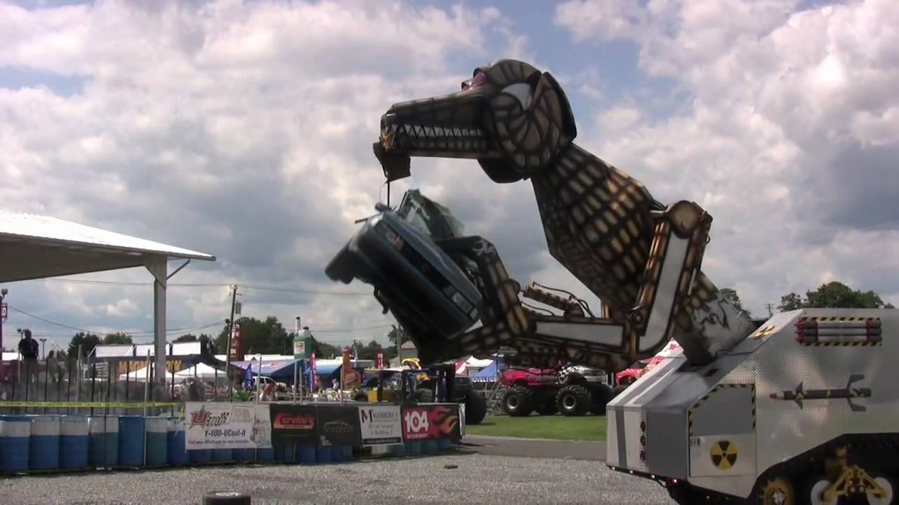Megasaurus At The 2009 Carlisle All Truck Nationals Youtube