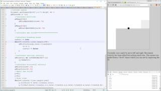 Collision Detection - Making a game in HTML Canvas with Sparks - Livestream Upload