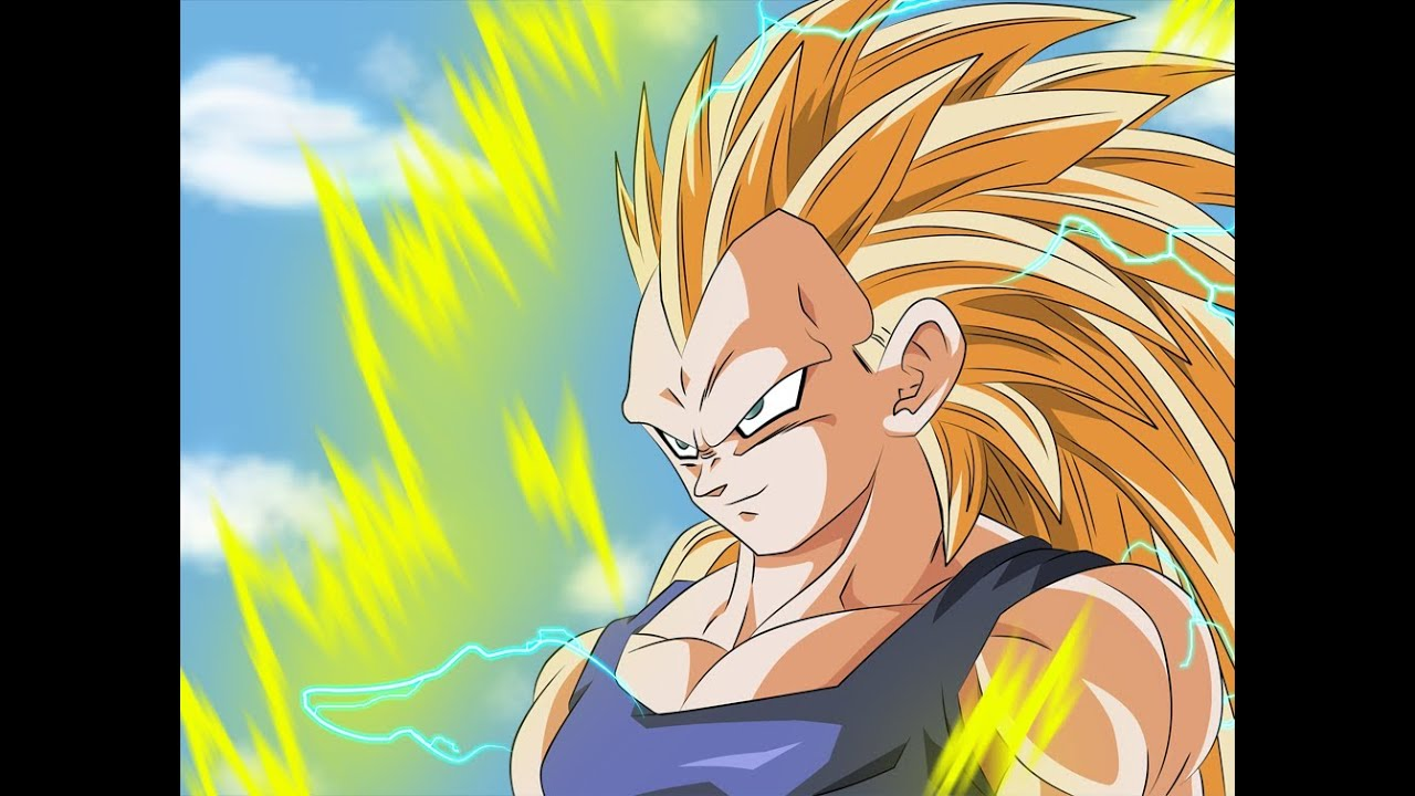 Super Saiyan 3 Goku Vs  Super Saiyan 3 Vegeta- Road to Dragon Ball Z Battle  of Z