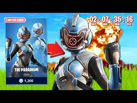 SEASON 11 EVENT COUNTDOWN! New Paradigm Skin!  (Fortnite Battle Royale)