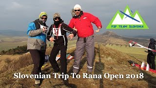 Slovenian Trip to F3F Rana Open 2018 *with Outtakes* :)