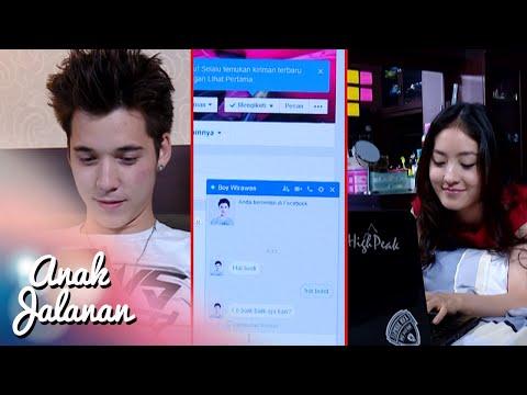 Hp Reva disita papahnya, Reva hubungin Boy lewat FB [Anak Jalanan] [4 Des 2015]
