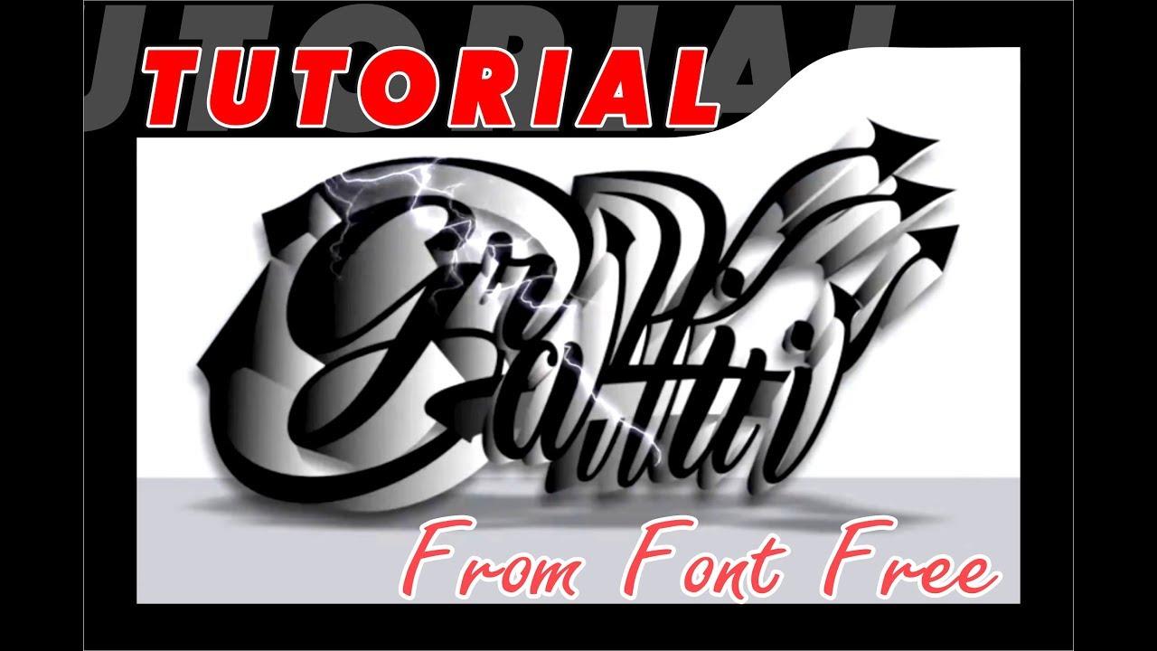 Tutorial corel draw membuat grafiti untuk pemula