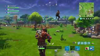 Fortnite Sniper Shootout Died while getting a kill