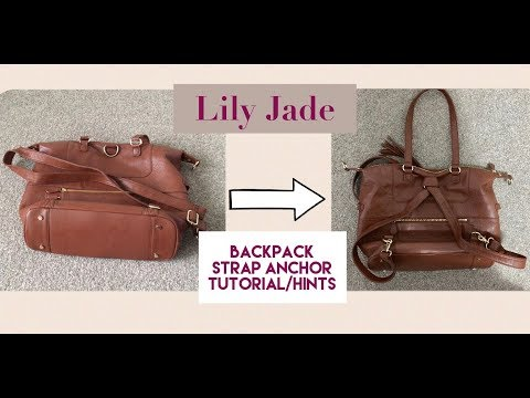 How to make a sling bag into a backpack