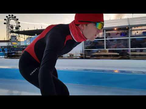 Speed Skating Olympic stadium Amsterdam - ISU World Championship 2018 Ice Long track Allround 2018
