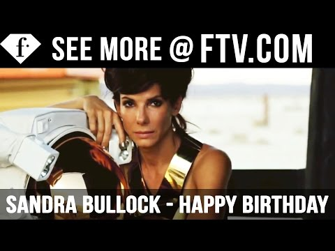 Sandra Bullock Happy Birthday - 26 July | FTV.com