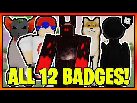 How To Get ALL 12 BADGES In TREVOR CREATURES TEST || Roblox
