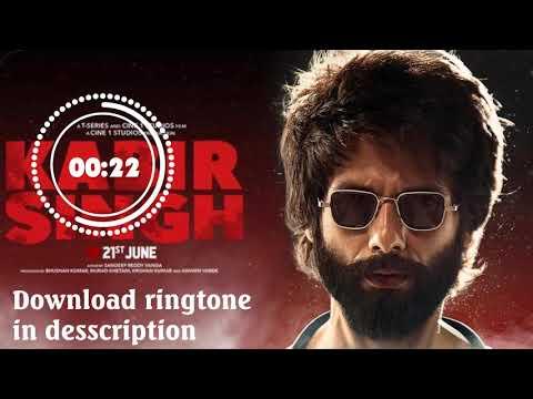 bekhayali-–-kabir-singh-ringtone-download-mp3-links-includes