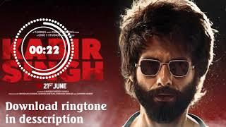 bekhayali-kabir-singh-ringtone-download-mp3-links-includes