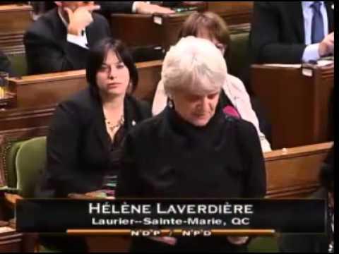 Hélène Laverdière et Paul Dewar - sanctions et la Russie