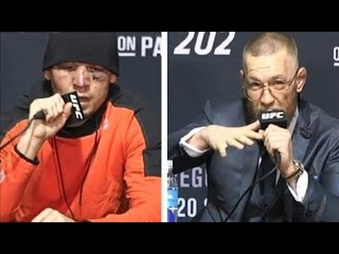Full UFC 202 Nate Diaz VS Conor McGregor Post fight Press Conference UFC 202