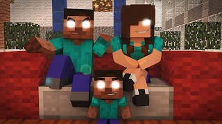 MINECRAFT: WHO'S YOUR FAMILY? - FAMILÍA HEROBRINE! (BABY HEROBRINE)