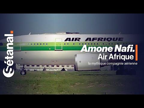 Il était une fois - Air Afrique la mythique compagnie aérienne