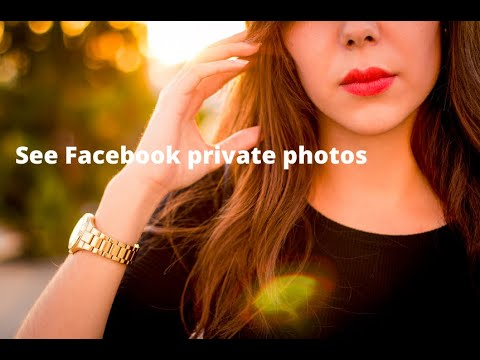 I Can See You - See private photos of any facebook users without being friends