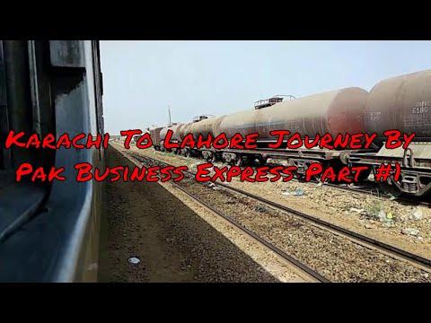 KC - LHR Complete Journey On Pak Business Express Part #1 | RaiLoversPK Productions