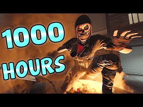 What 1000 HOURS of CAVEIRA Experience Looks Like - Rainbow Six Siege