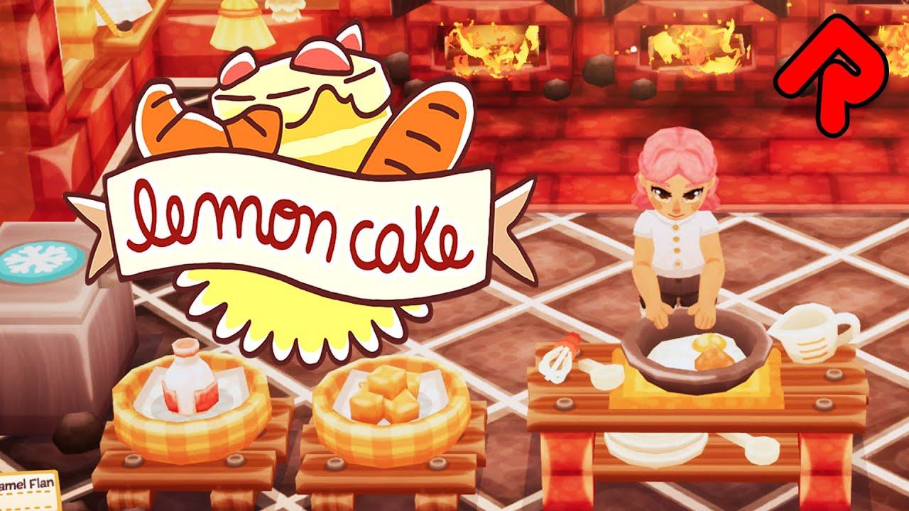 LEMON CAKE gameplay: Run a Haunted Bakery in Frantic Life Sim! (PC)