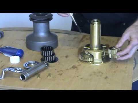 How To Service A Lewmar Ocean Winch Youtube