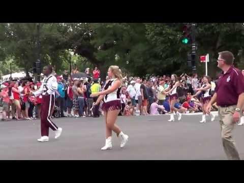 White Oak High School Band Independence Day Parade 7-4-13, Washington DC