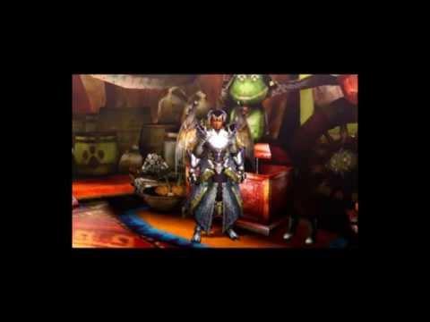 モンハン4G アークS装備画像(男性/剣士)モンスターハンター4G装備編