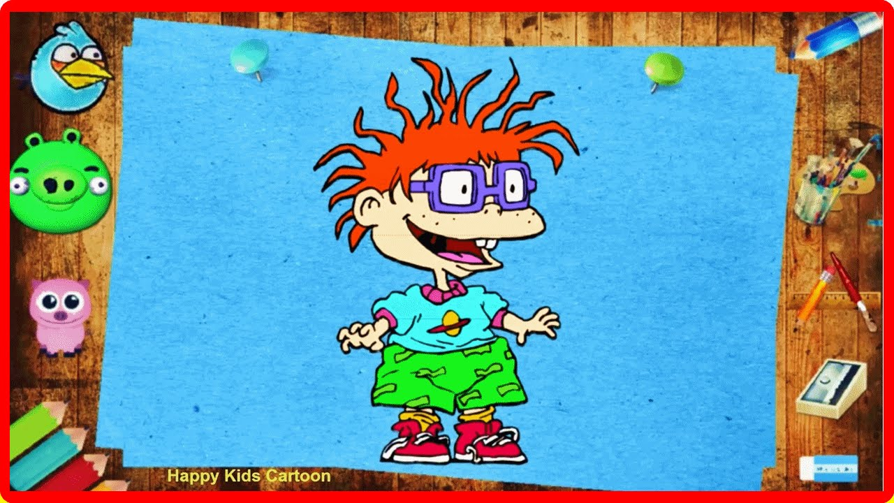 Rugrats Magic Pencil Coloring Pages For Kids - Learn Colors ...
