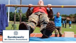 Kräftemessen der Soldaten: 1.Military Fitness Cup der Bundeswehr