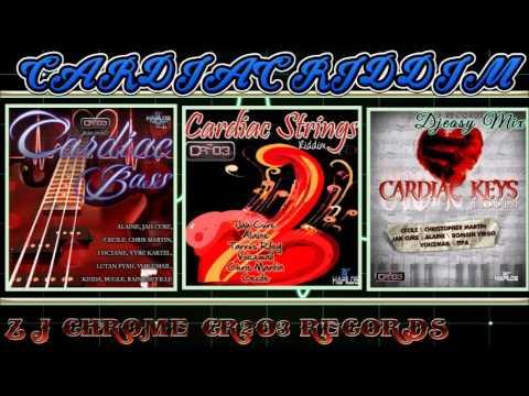 Cardiac Bass/ Cardiac Strings /Cardiac Keys Riddim (CR²03 RECORDS) All in One Mega Mix  Djeasy