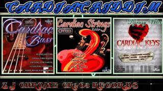 Cardiac Bass/ Cardiac Strings /Cardiac Keys Riddim (CR²03 RECORDS) All in One Mega Mix  Djeasy