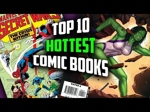 The Top 10 Hottest Comic Books Right Now // D23 News, Major Marvel Announcements Spike Comic Books