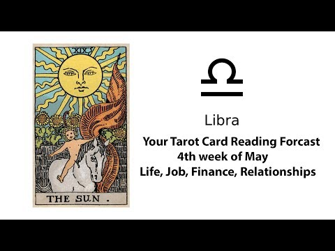 General Tarot Card Reading for Libra for 4th of May | Life, Work, Money, Relationships