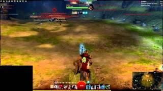 Guild Wars 2 GvG [aZm]vs[ELY]  (Komkoe PoV)
