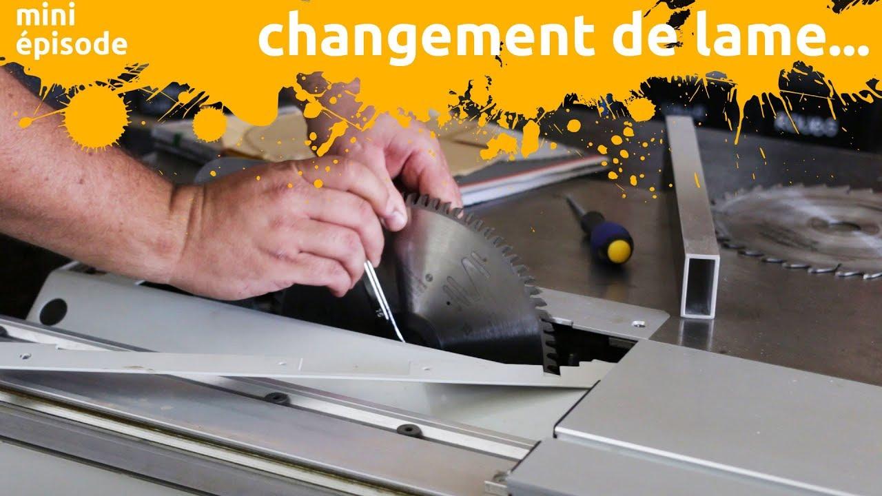 Changer La Lame De Ma Scie Circulaire Sur Table Miniepisode Youtube