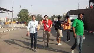 debut de la finale senegal # algerie  stade internationnal du caire Par Vincent Kamto.avi
