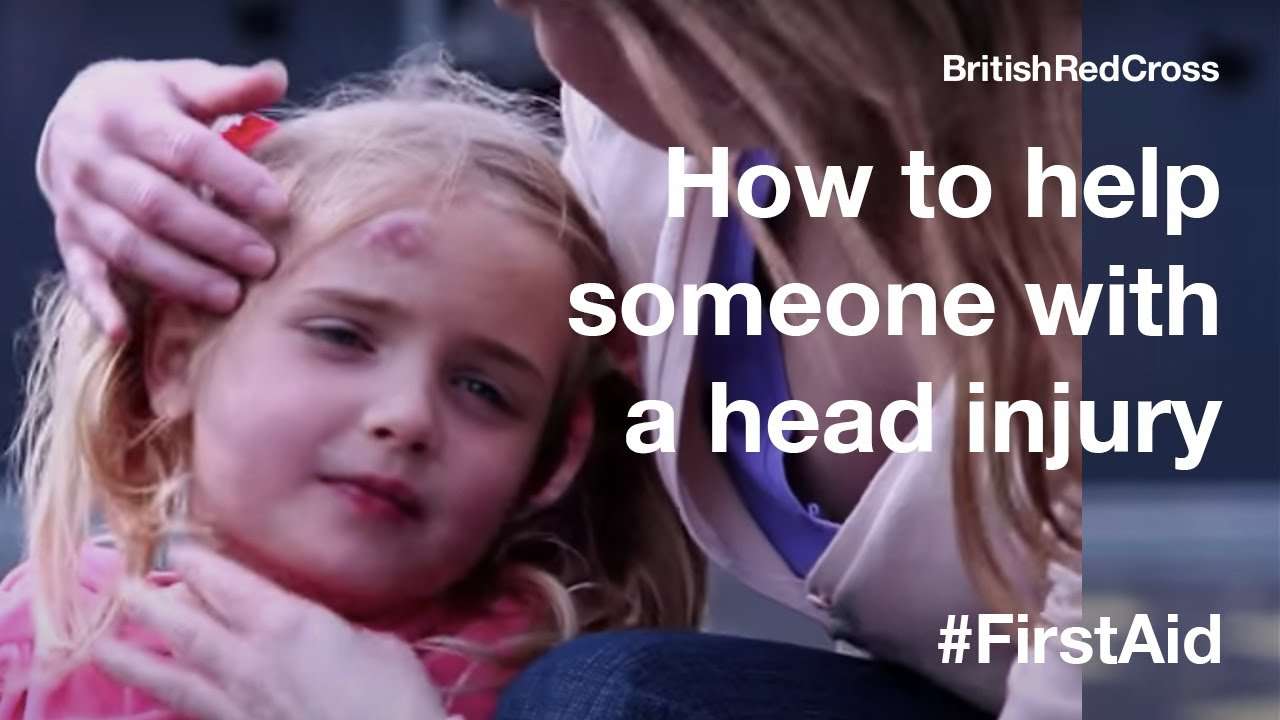 First aid for someone who has a head injury