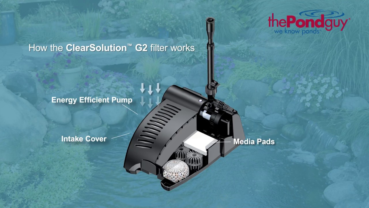 The Pond Guy Product Video Clearsolution G2