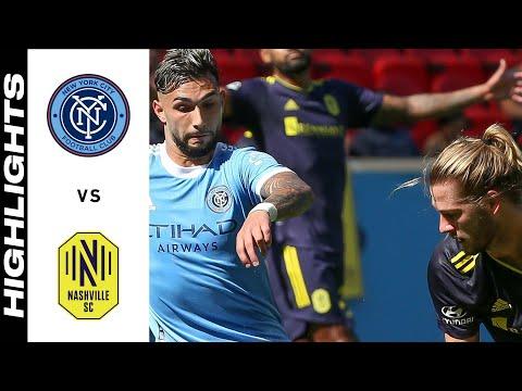 New York City Nashville SC Goals And Highlights
