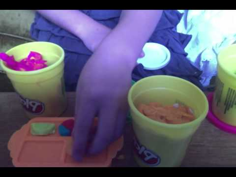 play-doh snack bar set