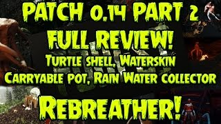 Patch 0.14 ► The Forest ► Carryable Pot Location - Building Customization - Waterskin - More ► P2