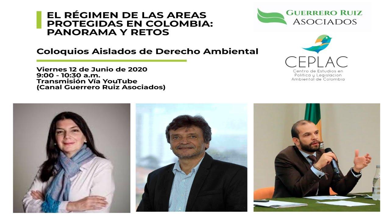 """Video de los Coloquios Aislados de Derecho Ambiental (7) """"El Régimen de las Áreas Protegidas"""""""