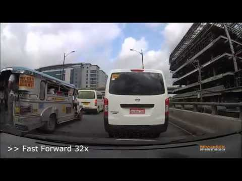Cainta Junction to Ortigas Center Drive - Traffic Madness (Speed Up x32)